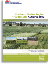 Northern grains trials - cover