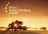 The 2013 Australian RIRDC Rural Women's Award