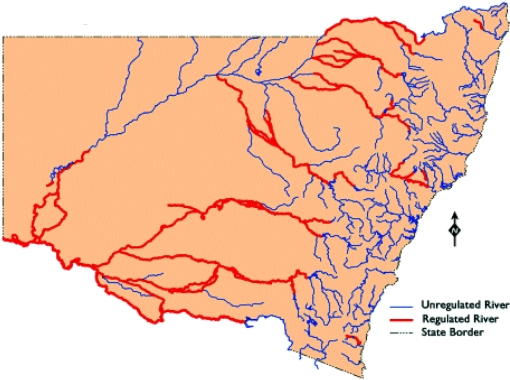 NSW Regulated rivers