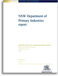NSW DPI report cover page