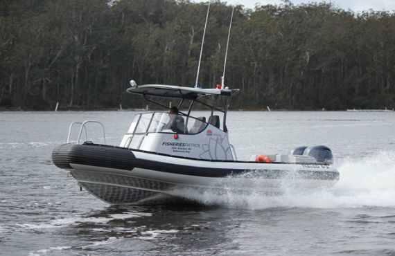 New Batemans Bay fisheries patrol vessel