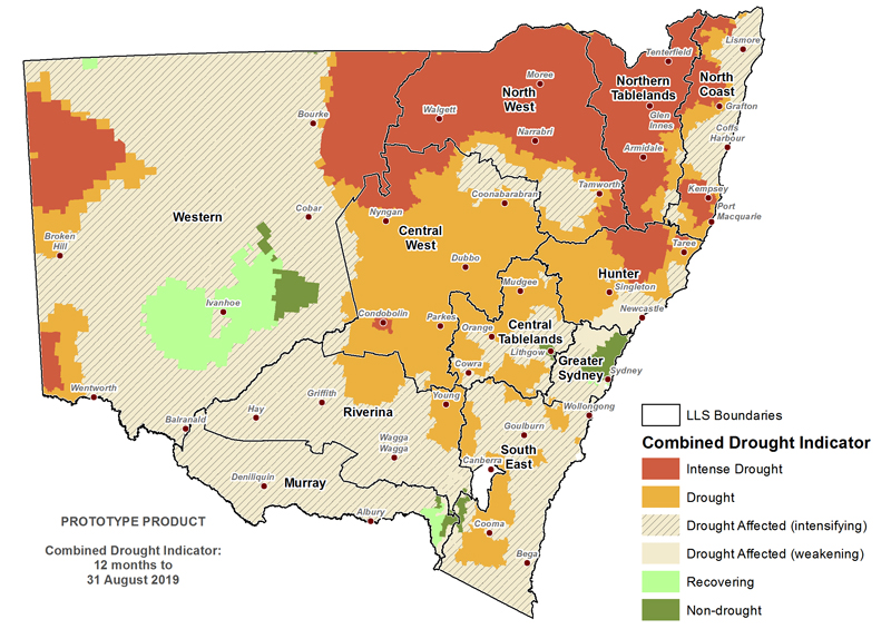 For an accessible explanation of this map/graph contact the author seasonal.conditions@dpi.nsw.gov.au