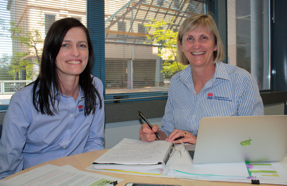 Dr Amanda Clear (left) and Dr Sarah Britton (right)