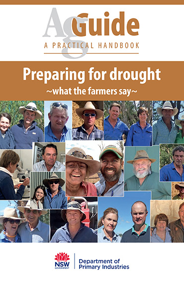 AgGuide - Preparing for drought cover