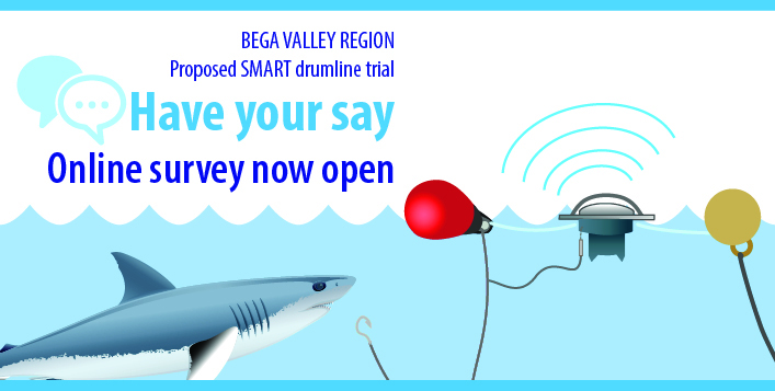 Bega Valley region proposed SMART drumline trial - Have your say - Online survey now open