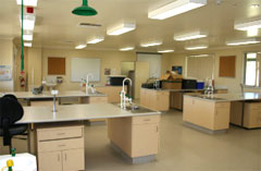 Teaching laboratory in the Food Industry Training Centre. Photo: Mark Stevens