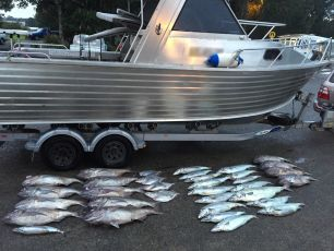 A boat forfeited by the Court and the illegally caught fish