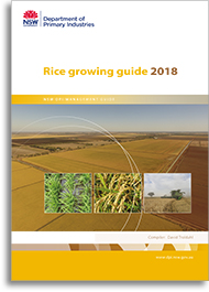 rice growing guide 2018 cover