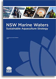 NSW Marine Waters Sustainable Aquaculture Strategy cover thumbnail