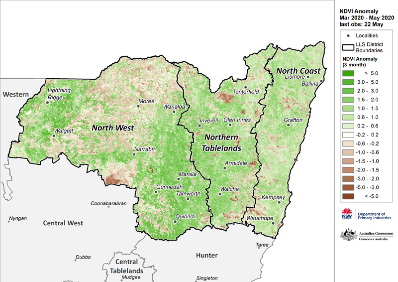 For an accessible explanation of this map contact the author seasonal.conditions@dpi.nsw.gov.au