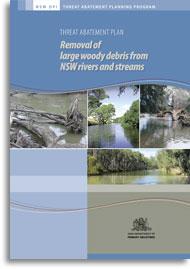 Cover of woody debris threat abatement plan