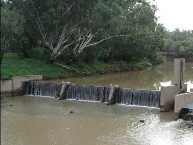 Weeta Weir before removal