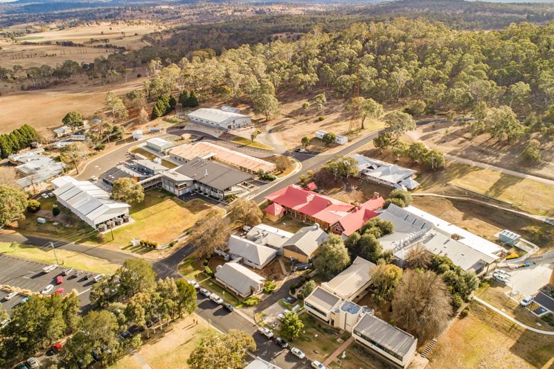 Aerial view of ALIC