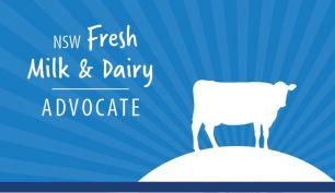 NSW Fresh Milk & Dairy Advocate logo