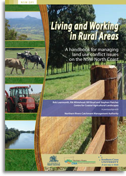 Cover of Working and living in rural areas