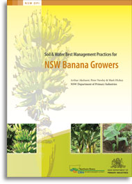 Cover of 'Soil and water best management practices for NSW banana growers