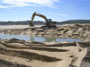 Work to open Burril Lake