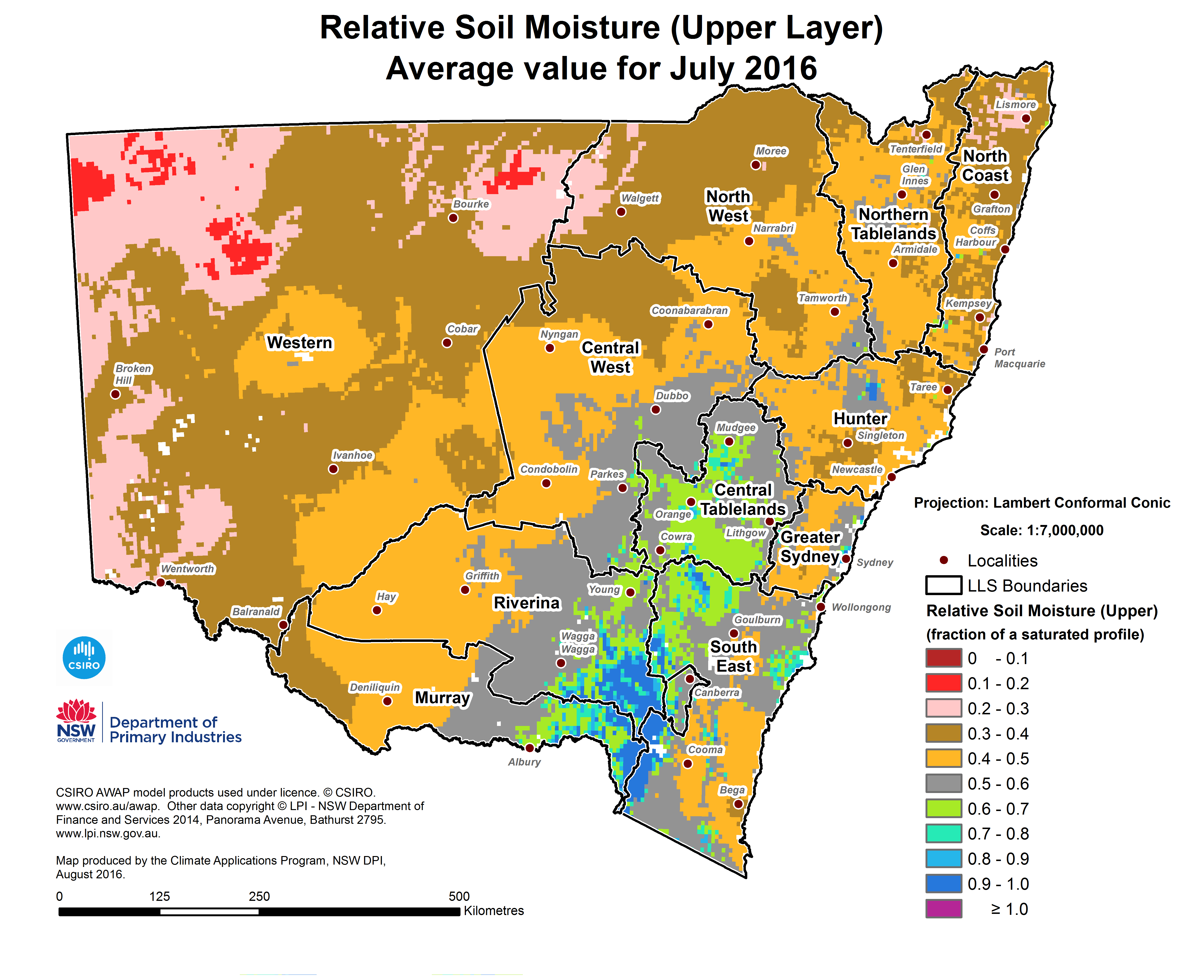 Stately Knowledge Facts About The United States US Route In - Us soil moisture map