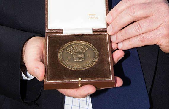 Farrer Memorial Trust medal