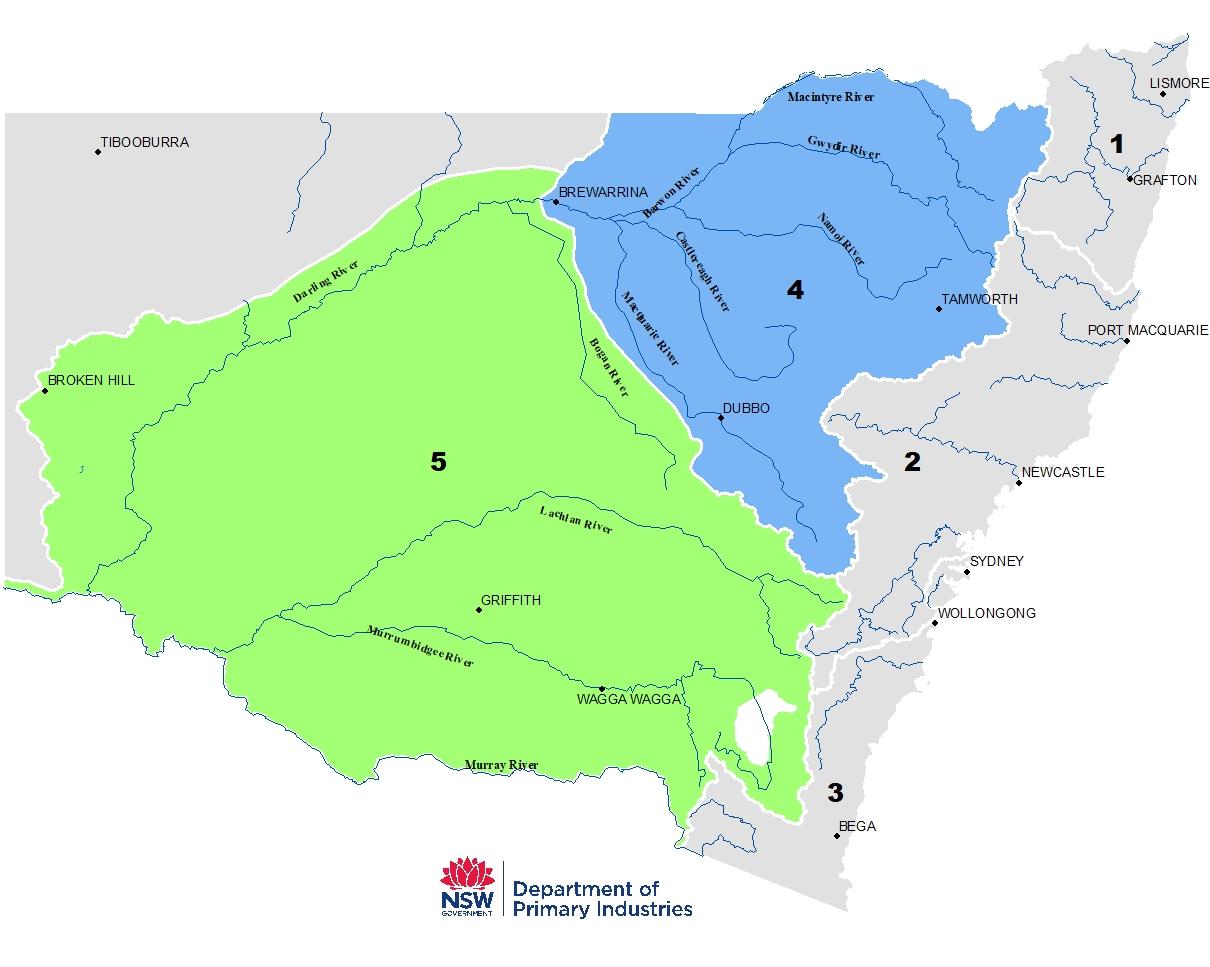Northern (MC1) =Map Zone 4 and Southern (MC2)= Map Zone 5