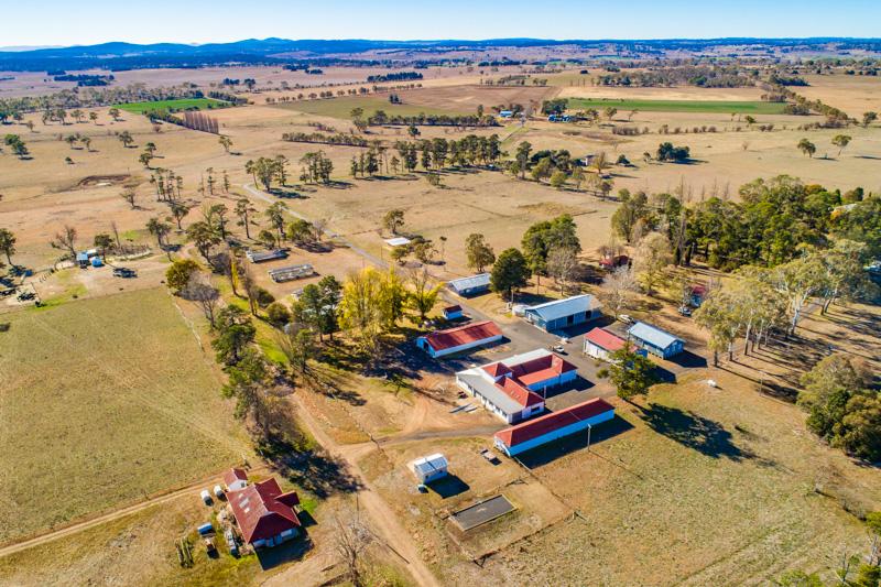 Aerial view of GIARAS
