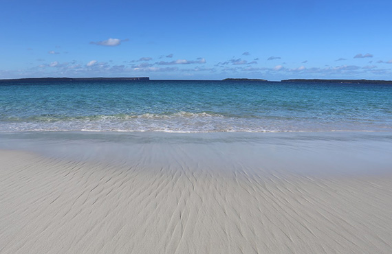 Hyams Beach, Jervis Bay Marine Park, Photo: Joe Neilson DPI