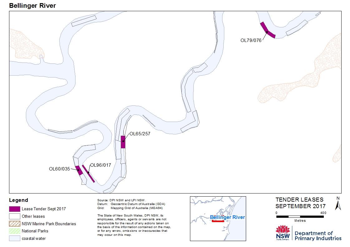 Bellinger Map