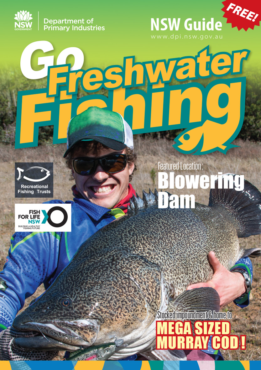 Cover image of Blowering Dam Go Fishing guide