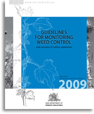 Guidelines for monitoring weed control - cover