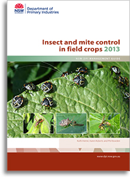 Insect and mite control in field crops - cover