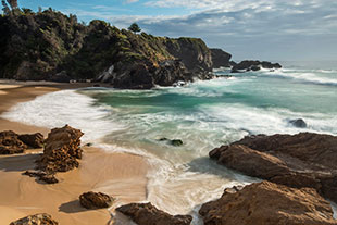 Narooma Beach by Justin Gilligan