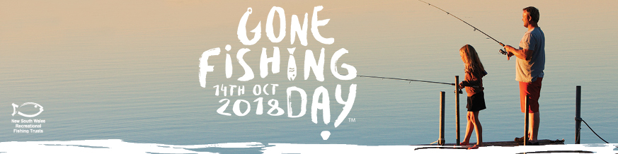Gone Fishing Day 2018 banner