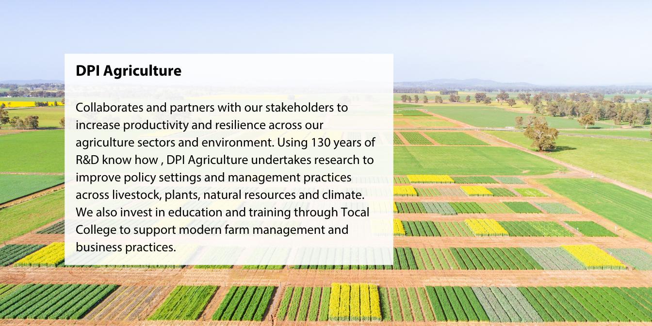 DPI Agriculture