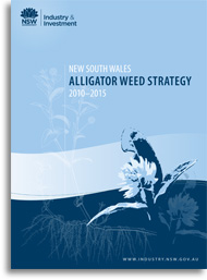 NSW aligator weed strategy - cover