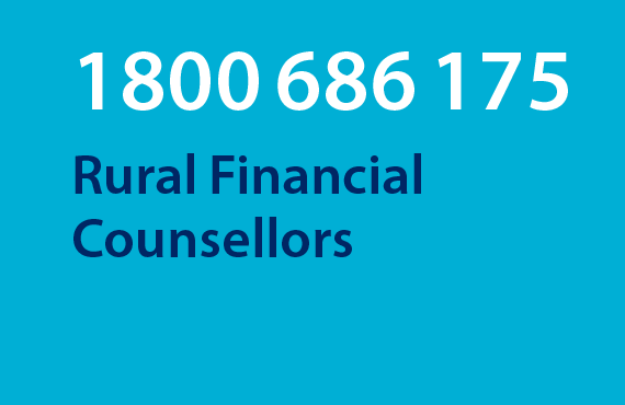 Call the Rural Financial Counselling Service on 1800686175
