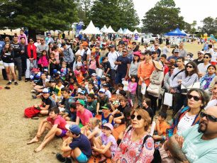 Gone Fishing Day 2017 crowd at Botany Bay