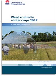 Cover of Weed Control in Winter Crops