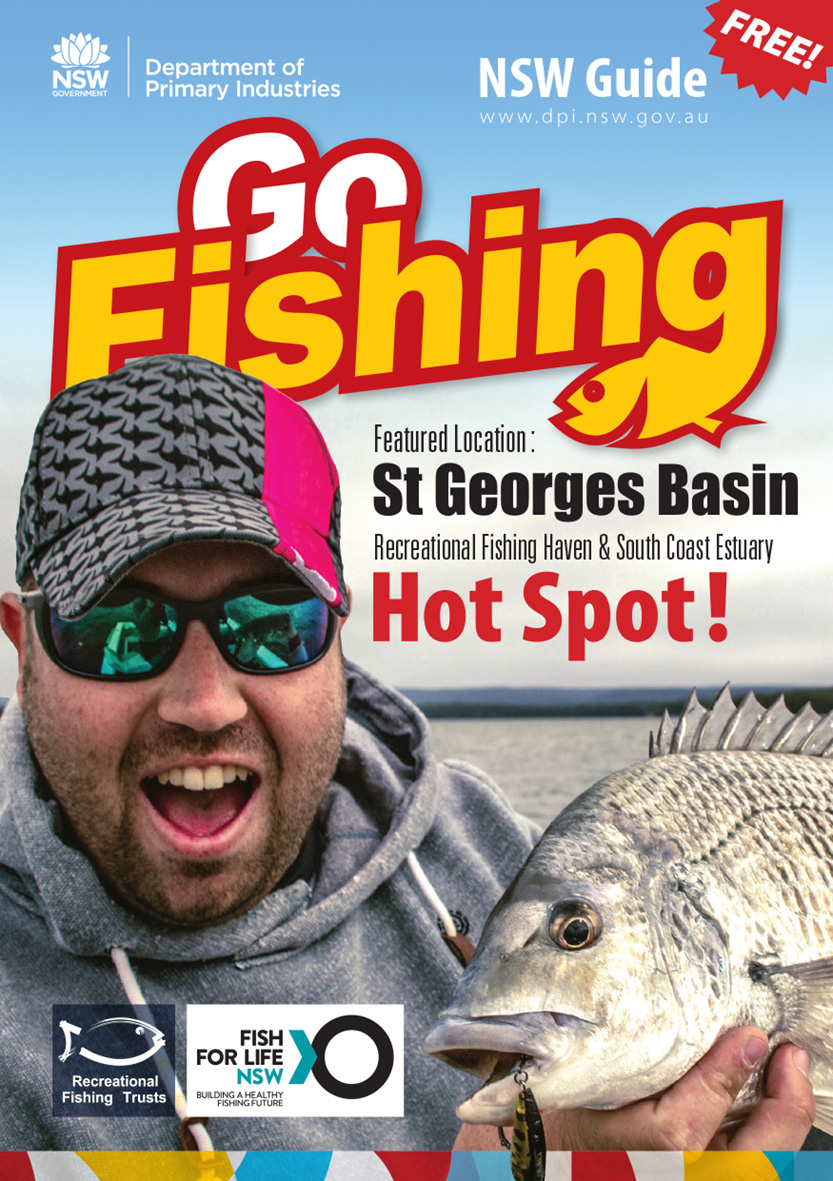 Cover image of St Georges Basin Go Fishing guide