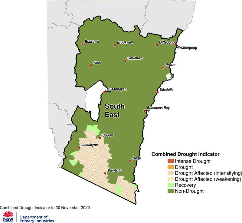 For an accessible explanation of this map contact the author seasonal.conditons@dpi.nsw.gov.au
