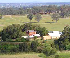 CB Alexander Campus, with Tocal Homestead in foreground.