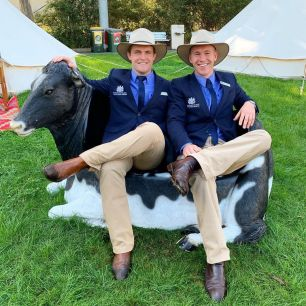 James Cleaver (left) and Samuel Johnson (right) 2019 RAS Rural Achievers