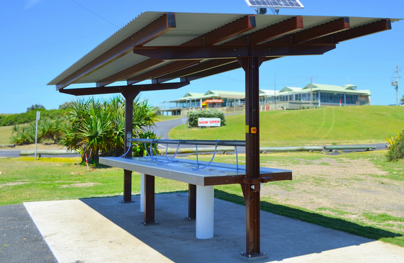 fish cleaning shelter Coffs Harbour