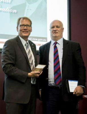Farrer Memorial Medal presentation