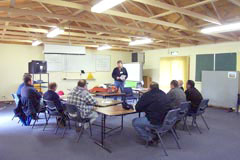 Course session at Murrumbidgee Rural Studies Centre