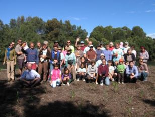 Local community groups working together to enhance the Cooks River foreshore.