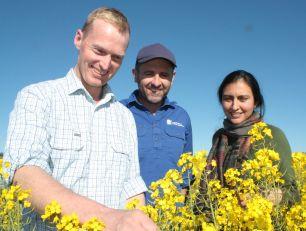 John Bromfield, Rohan Brill and Dr Rajneet Uppal