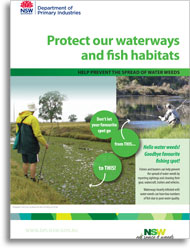 Protect our waterways and fish habitat